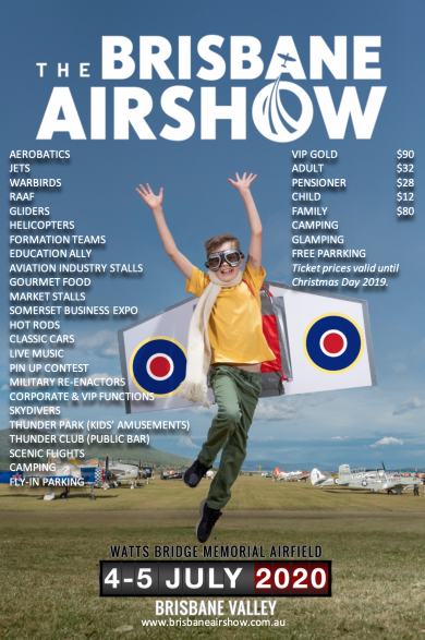 Brisbane Airshow General Christmas Sale